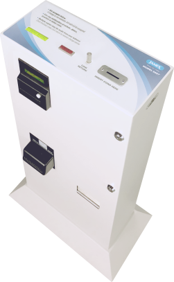 9550 Series - Network Enabled Payment Solutions   Jamex Vending